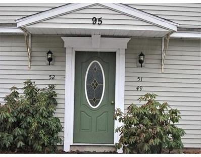 95 Center Depot Road UNIT 52, Charlton, MA 01507 - MLS#: 72280318
