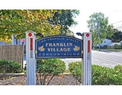 100 Franklin St UNIT A1, Whitman, MA 02382 - MLS#: 72288075