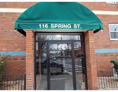 116 Spring St UNIT D4, Boston, MA 02132 - MLS#: 72290257
