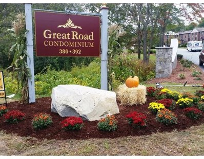 384 Great Rd UNIT 103, Acton, MA 01720 - MLS#: 72291440