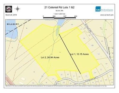 21-1 Colonial Rd, Sutton, MA 01590 - MLS#: 72299996