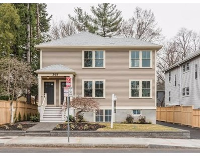 368 Concord Avenue UNIT 2, Cambridge, MA 02138 - MLS#: 72307328