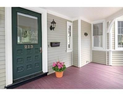 213 Gardner Rd, Brookline, MA 02445 - MLS#: 72327337