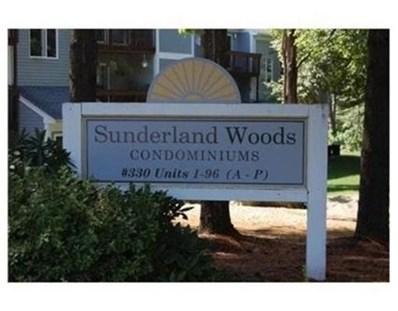 330 Sunderland Rd UNIT 13, Worcester, MA 01604 - MLS#: 72328770