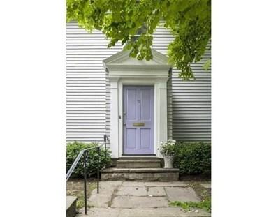 72 Raymond Street, Cambridge, MA 02140 - MLS#: 72341097