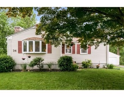 34 Wolcott Ave, West Springfield, MA 01089 - MLS#: 72347302