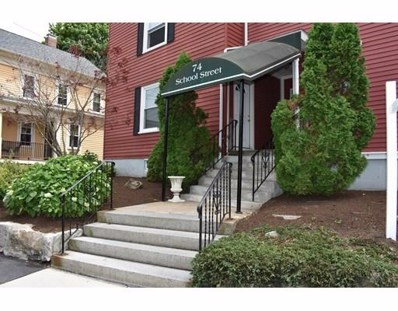 74 School Street UNIT F1, Waltham, MA 02452 - MLS#: 72349850