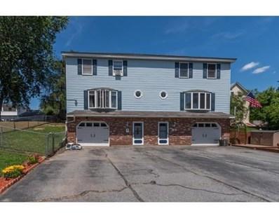 14 Gaston Terrace UNIT 14, Lowell, MA 01850 - MLS#: 72352396