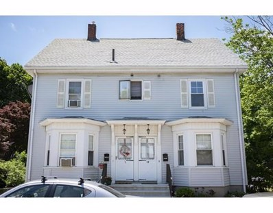 19 Mt. Pleasant Street UNIT 1, Woburn, MA 01801 - MLS#: 72354528