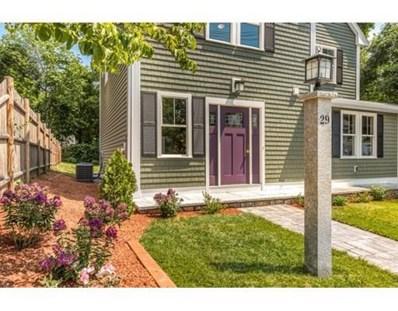 29 Oak Street, Winchester, MA 01890 - MLS#: 72358421
