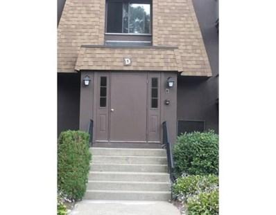 491 West Central Street UNIT D12, Franklin, MA 02038 - MLS#: 72365360