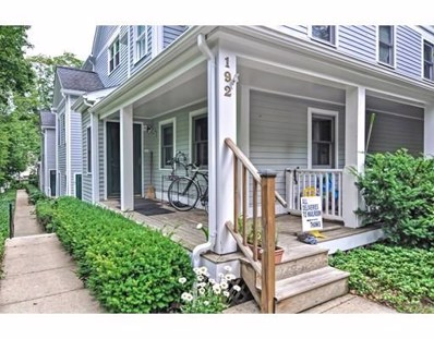192 Chestnut Avenue UNIT F, Boston, MA 02130 - MLS#: 72372035