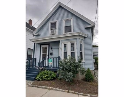 76 Newhall, Lowell, MA 01852 - MLS#: 72373818