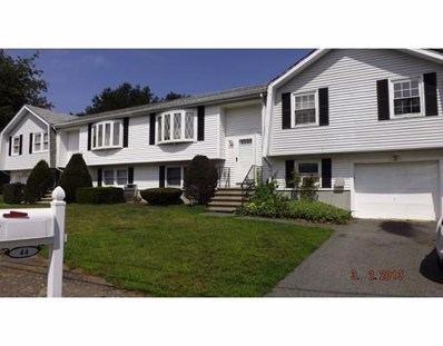 44 Country Club Drive UNIT 44, Randolph, MA 02368 - MLS#: 72374375