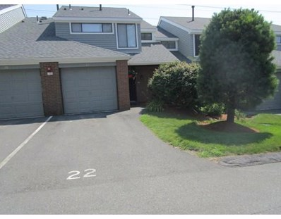 22 Rosewood Drive UNIT 22, Stoughton, MA 02072 - MLS#: 72376449