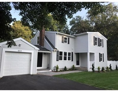 603 Union Street, Braintree, MA 02184 - MLS#: 72377494