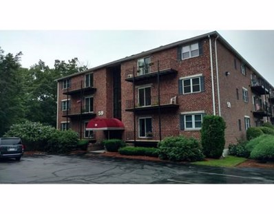 59 Mill Street UNIT 201, Dracut, MA 01826 - MLS#: 72378682