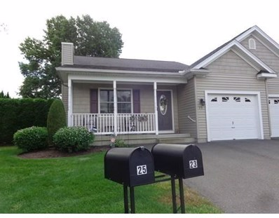 25 Fairview Village Ct. UNIT 25, Chicopee, MA 01020 - MLS#: 72386629
