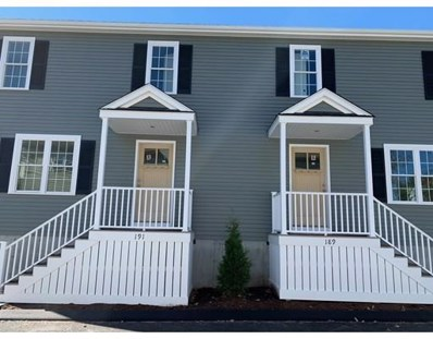 191 Centre Ave UNIT B, Abington, MA 02351 - MLS#: 72387431