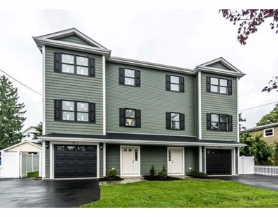 20 Wadsworth Avenue UNIT 1, Waltham, MA 02453 - MLS#: 72394008