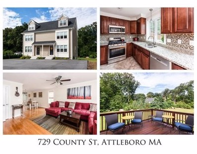 729 County St UNIT 729, Attleboro, MA 02703 - MLS#: 72401458