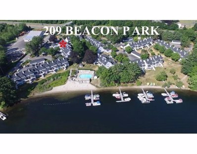 209 Beacon Park UNIT 209, Webster, MA 01570 - MLS#: 72404581