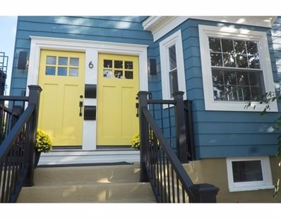 6 Cutter Street UNIT 1, Somerville, MA 02145 - MLS#: 72408847