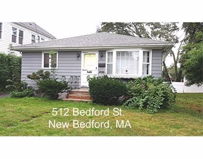 512 Bedford Street, New Bedford, MA 02740 - MLS#: 72411864