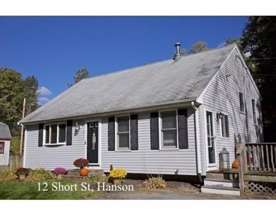 12 Short St, Hanson, MA 02341 - MLS#: 72415835