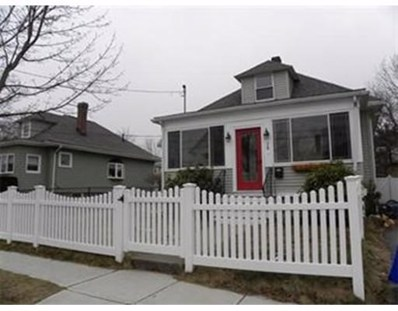 28 Apthorp St, Quincy, MA 02170 - MLS#: 72416776