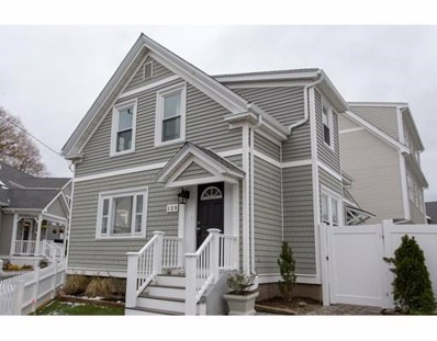 133 Sumner Street UNIT 8, Quincy, MA 02169 - MLS#: 72425145
