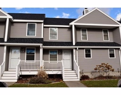 103 Sycamore Dr UNIT 103, Leominster, MA 01453 - MLS#: 72429186
