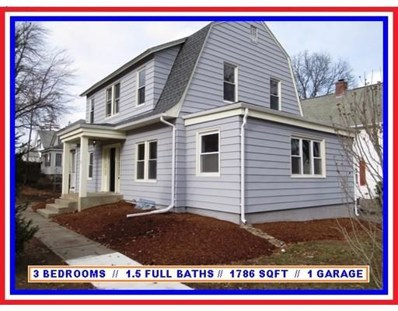 252 May Street, Worcester, MA 01602 - MLS#: 72432059