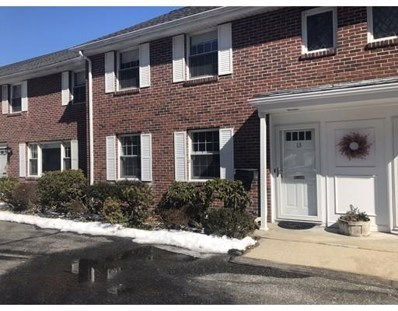 21 Westerly St UNIT 13, Wellesley, MA 02482 - MLS#: 72461322