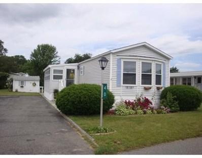 193 Tremont Street UNIT 40, Taunton, MA 02780 - MLS#: 72520149