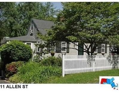11 Allen St, Needham, MA 02492 - MLS#: 72549188