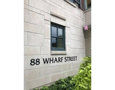 88 Wharf St UNIT 601, Milton, MA 02186 - MLS#: 72563648