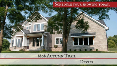 8808 Autumn Trail, Dexter, MI 48130 - MLS#: 3254357