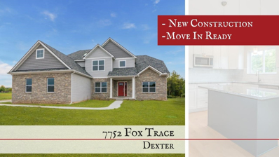 7752 Fox Trace, Dexter, MI 48130 - MLS#: 3254861