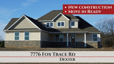 7776 Fox Trace Road, Dexter, MI 48130 - MLS#: 3256052