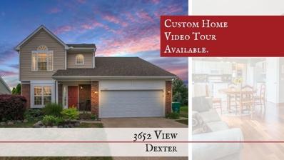 3652 View Drive, Dexter, MI 48130 - MLS#: 3259287