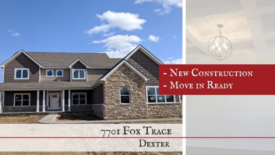 7701 Fox Trace Road, Dexter, MI 48130 - MLS#: 3260183