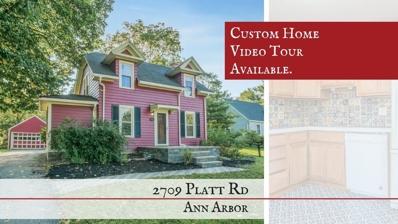 2709 Platt Road, Ann Arbor, MI 48104 - MLS#: 3260378