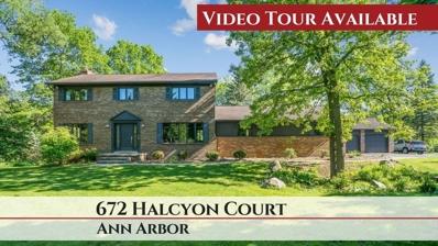 672 Halcyon Court, Ann Arbor, MI 48103 - MLS#: 3264061