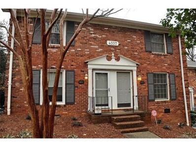 4337 Hathaway Street UNIT B, Charlotte, NC 28211 - MLS#: 3356817
