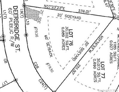 7930 Deerbridge Street UNIT 76, Mint Hill, NC 28227 - MLS#: 3368000