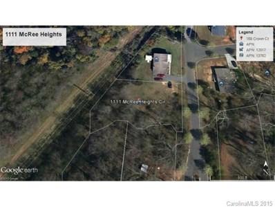 1111 McRee Heights Circle, Newton, NC 28658 - MLS#: 466511