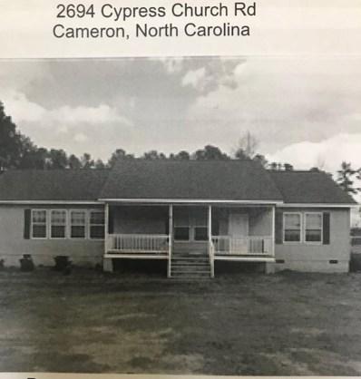 2694 Cypress Church Road, Cameron, NC 28326 - MLS#: 187994