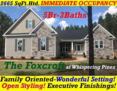 260 Foxcroft, Whispering Pines, NC 28327 - MLS#: 191702