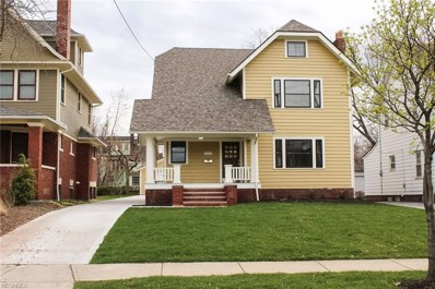 11116 Ashbury Ave, Cleveland, OH 44106 - MLS#: 3868177